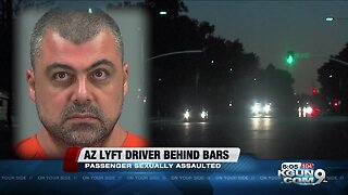 Arizona Lyft driver charged with kidnapping, sexually assaulting passenger