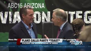Sen. Jeff Flake says Republicans may be 'toast', citing 'the party of Roy Moore and Donald Trump' - Video
