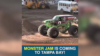 Monster Jam heads to Tampa this weekend | Taste and See Tampa Bay - Video
