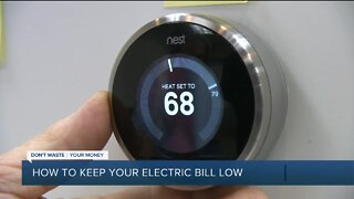 How to keep your electric bill low