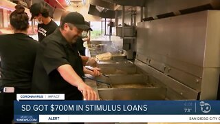 San Diego County business owners got $700M in stimulus loans