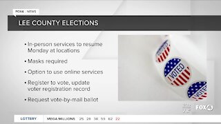 Lee County Election Office reopens