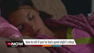 Ask Dr. Nandi: How to tell if you've had a good night's sleep - Video