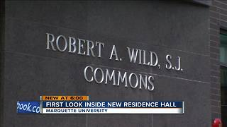 Marquette unveils new residency hall - Video