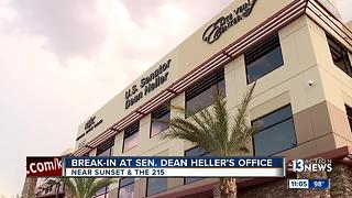 Break-in at Sen. Dean Heller's office - Video
