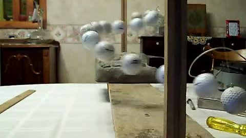 Golf Ball Pendulums Shapeshift And Form Amazing Spirals