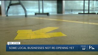 Some Tulsa business owners choose to stay closed even with reopening phase