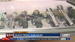 Black Friday gun deals to boost slumping sales - Video