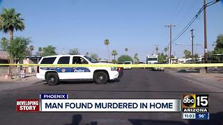 Police investigating homicide in central Phoenix - Video
