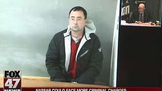 Dr. Nassar arraigned on 3 counts of CSC - Video