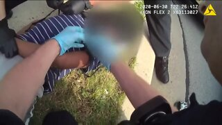 Brookfield Police release video of a teenager's arrest