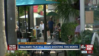 Safety Harbor to be a backdrop for new Hallmark Movie