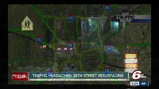 Progress being made on construction projects throughout central Indiana - Video