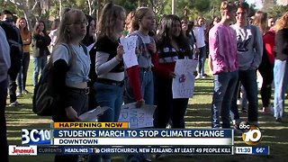 """Local students join the international """"Youth Strike for Climate"""""""