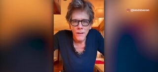 Kevin Bacon's morning mango routine