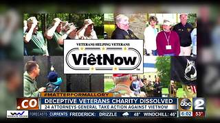 Deceptive Vietnam veterans charity dissolved - Video