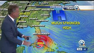 Irma now a Category 3 hurricane with 115 mph winds - Video