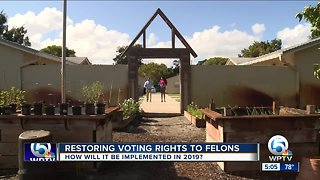 Restoring voting rights to felons