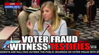 Witness Testifies that Military Ballots Looked like Photocopies!