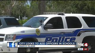 Police chief is asking Marco Island leaders for more officers for schools - Video