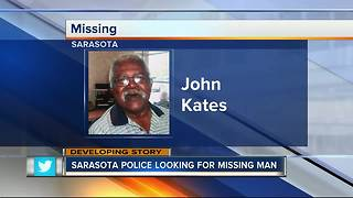 Sarasota police searching for missing 72-year-old man last seen at assisted living facility - Video