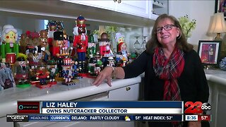 Local woman with impressive nutcracker collection