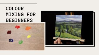 COLOUR MIXING for Beginners