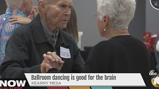 Alzheimer's disease researchers say ballroom dancing good for brain stimulation - Video