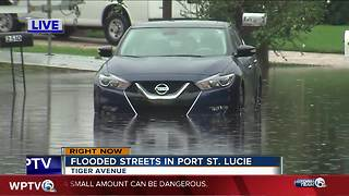 Port St. Lucie impacted by flood waters - Video