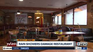 Rain damage causes restaurant Havana Express to close - Video
