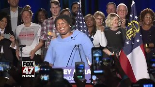 Stacey Abrams files lawsuit in Georgia governor race - Video