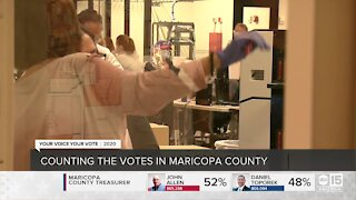 Counting the votes in Maricopa County