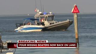 U.S. Coast Guard locates missing boaters off Sanibel Island -- 8:30am live report - Video
