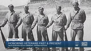 Honoring Veterans past and present