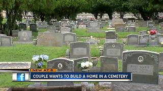 Neighborhood upset that home could be built inside West Tampa Cemetery - Video