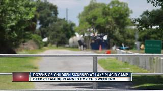 33 children transported to hospitals after falling ill at summer camp in Lake Placid - Video