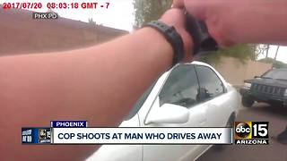 Body cam footage released in Phoenix officer-involved shooting from July