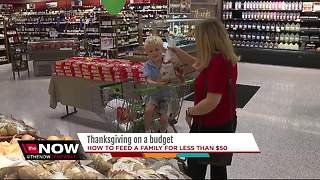 Thanksgiving on a budget - Video