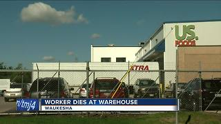 Man killed after becoming trapped between two vehicles near Waukesha warehouse - Video