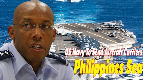 US Navy To Send Aircraft Carriers And Several Warships To Philippines Sea And SCS