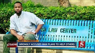 Wrongly Accused Man Plans To Help Others - Video