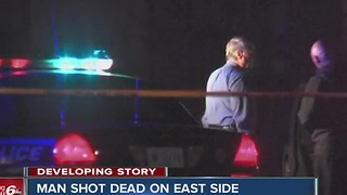 Man shot dead on Indy's east side - Video