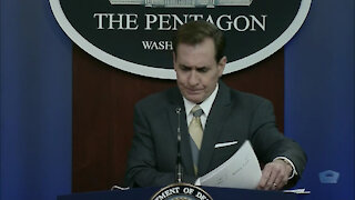 Pentagon Press Secretary Briefs Reporters