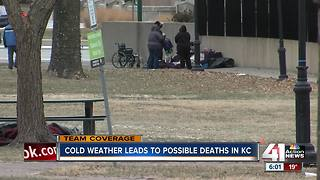 Nonprofit reports 2 deaths from exposure to cold - Video