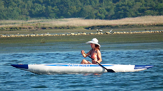 Inflatable Kayak can be Perfect Dinghy  - Video