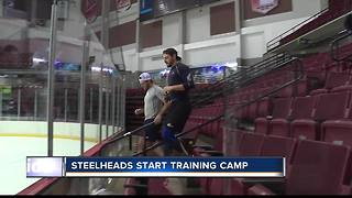 Idaho Steelheads begin training camp - Video
