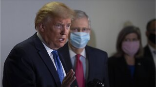Trump Calls High Number Of COVID-19 Cases 'Bade Of Honor'