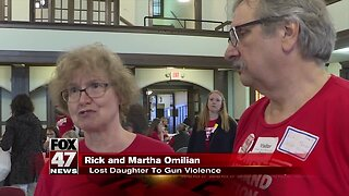 """Moms Demand Action"" group meets with lawmakers about gun-safety bills"