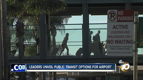 Tunnel considered for airport transit