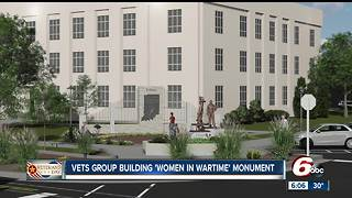 Veteran is hoping to build a memorial for female veterans from Indiana - Video